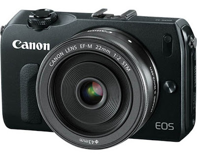 Fotografia della mirrorless Canon EOS-M