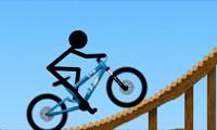 Bisikletli Çöp Adam Oyunu