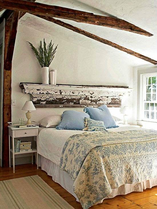 dormitorio vintage rustico