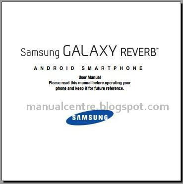 Samsung Galaxy Reverb Manual Cover