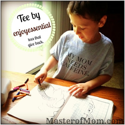 child coloring, enjoy essential, fun kids clothing, funny sayings, narcolepsy parenting, need caffeine, kids make me tired