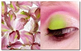 maquilhagem inspirada na natureza