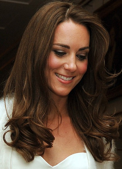 Kate Middleton Wedding Hairstyle Pictures