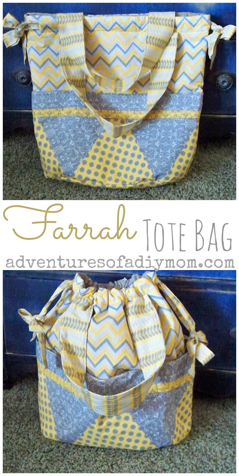 The Farrah Tote Bag