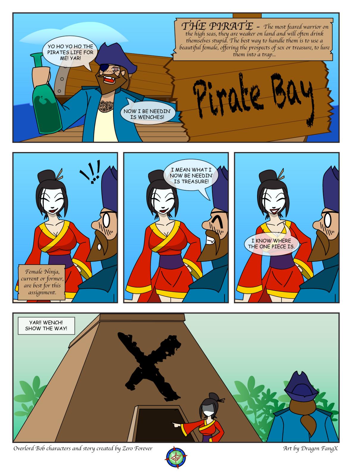 Overlord's Universe: Pirates vs Ninja's 1