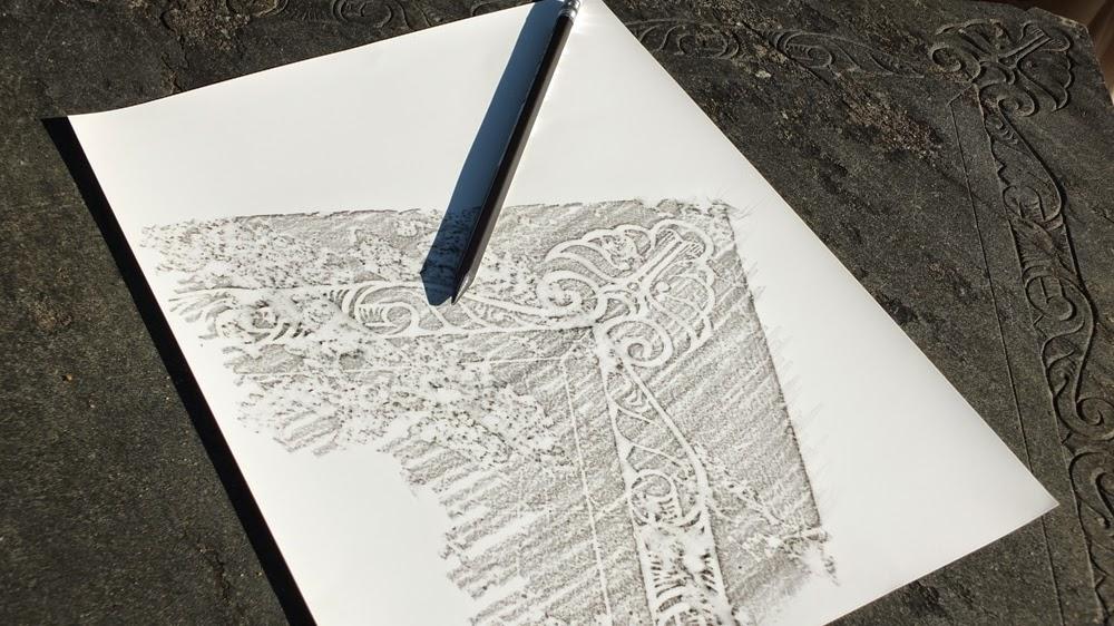rubbing on stone heartstonepaper