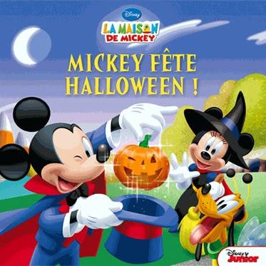 La biblioth que de cl mentine mickey f te halloween - Maison de mickey halloween ...