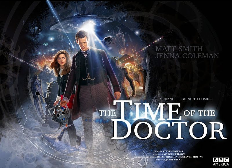 Doctor Who The Time of the Doctor poster
