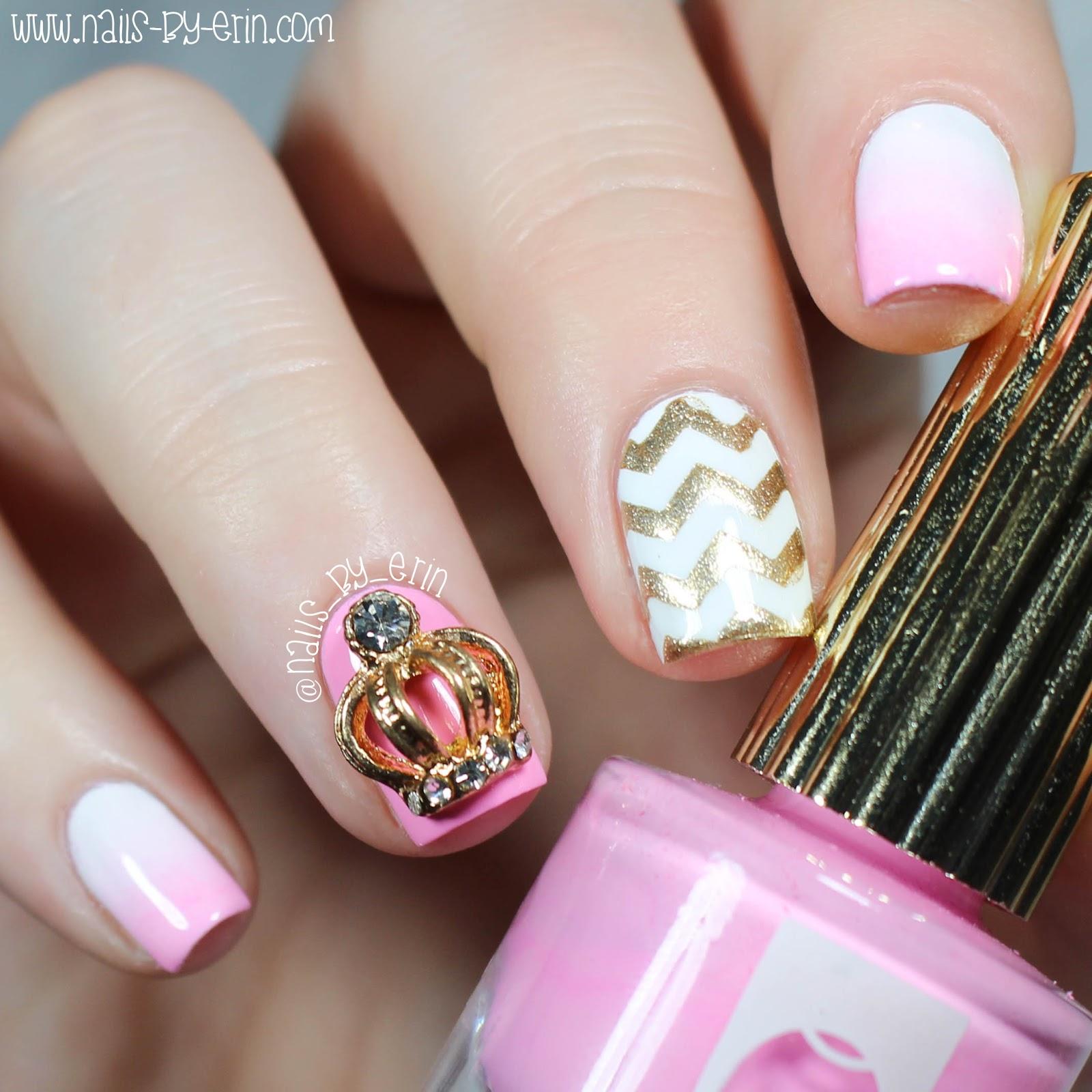 Princess Nail Art: NailsByErin: Royal Princess Nails