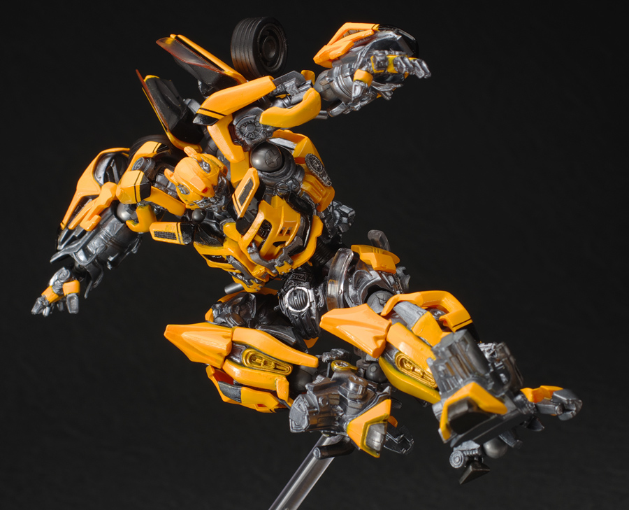 Sci Fi Transformer : Mecha guy sci fi revoltech no transformers bumblebee