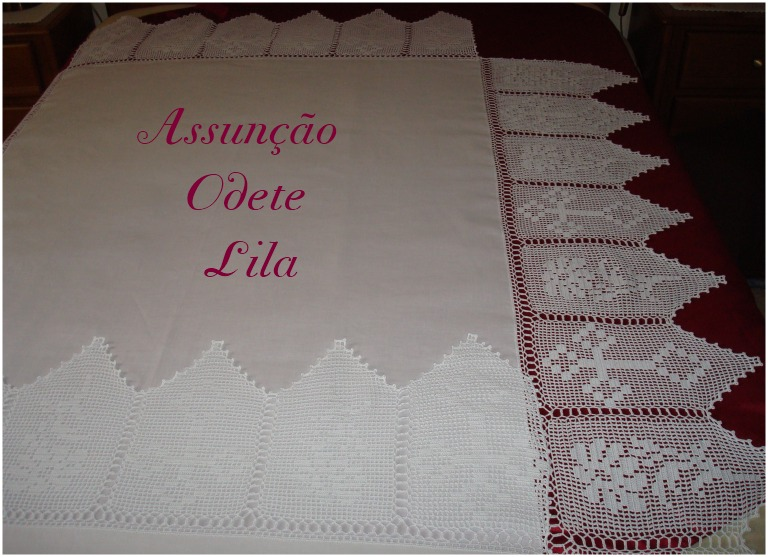 Toalha De Altar Em Croch
