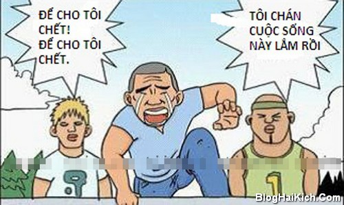 Cười với truyện tranh ngắn hài bá đạo (P.1)