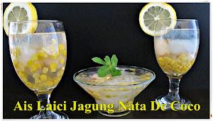Ais laici jagung Nata De Coco