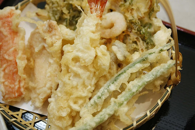 Tenya All Star tempura set