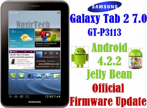 If your Galaxy Tab 2 7.0 P3113 already running on Android 4.2.2 Jelly