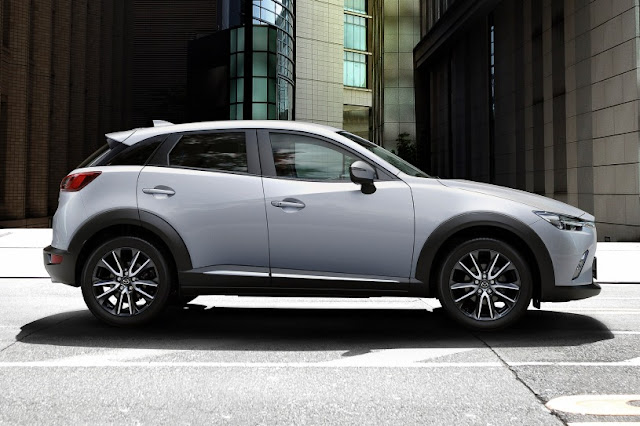 2016 All New Mazda CX-3 comvatible side view