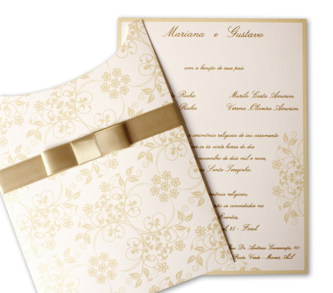 decorar ouro branco:Art Invitte Convites – Convites para Casamento, Debutantes e Bodas