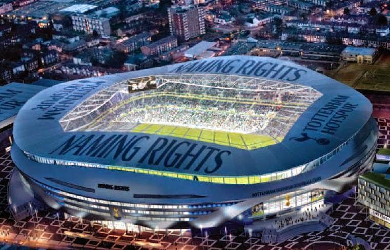 LONDON-New White Hart Lane stadium