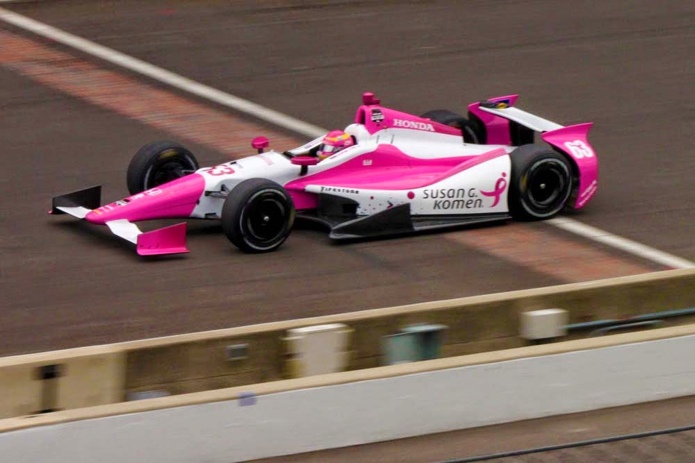 "<img src=""PippaMann.jpg"" alt=""Pippa Man Indy500 Indianapolis IndyCar"" title=""Pippa Mann qualifies 22nd for Indy 500"" />"