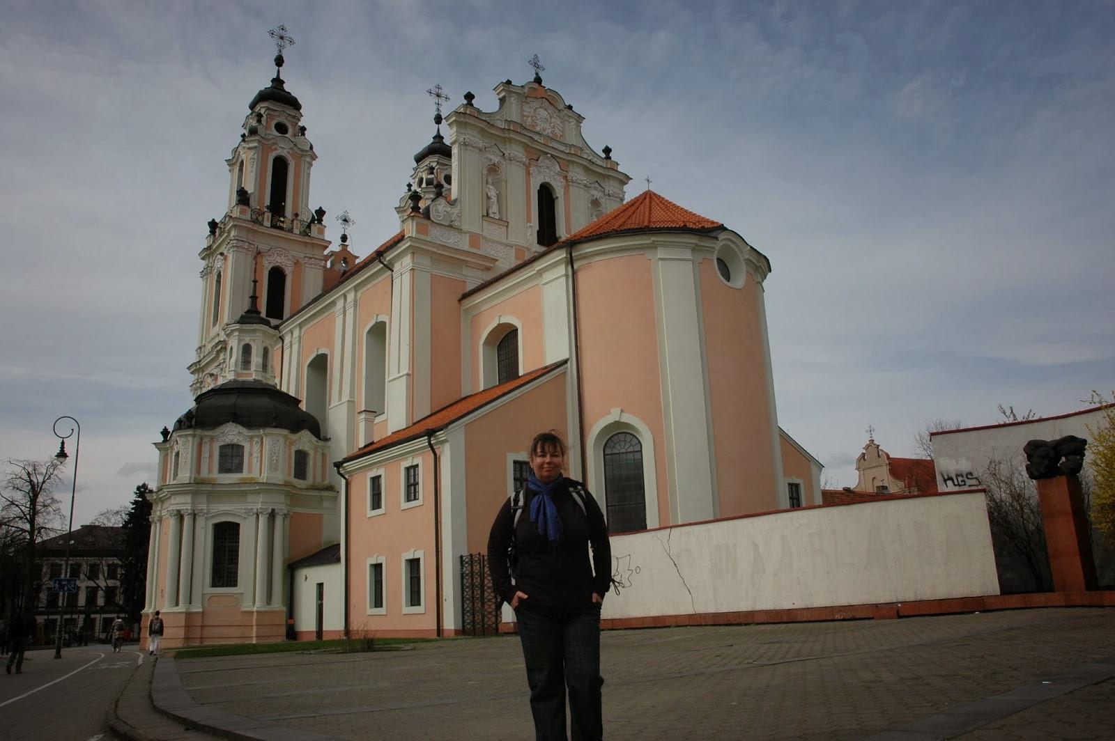 kościół św. Katarzyny w Wilnie