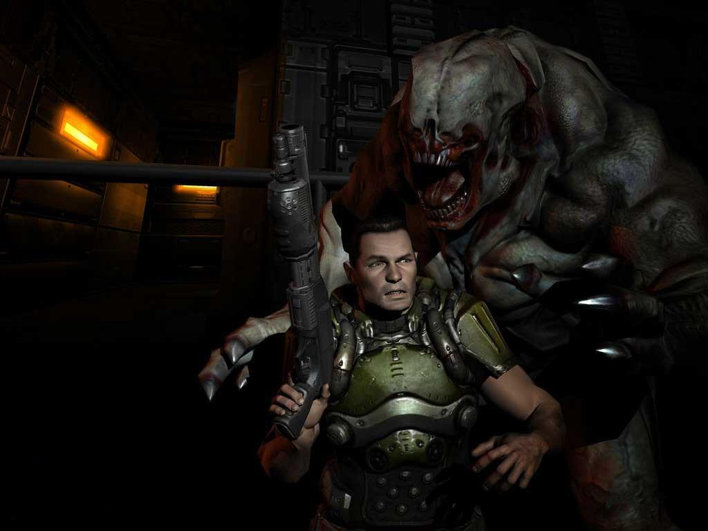 Una armadura de seguridad es parte básica del equipo en Doom.