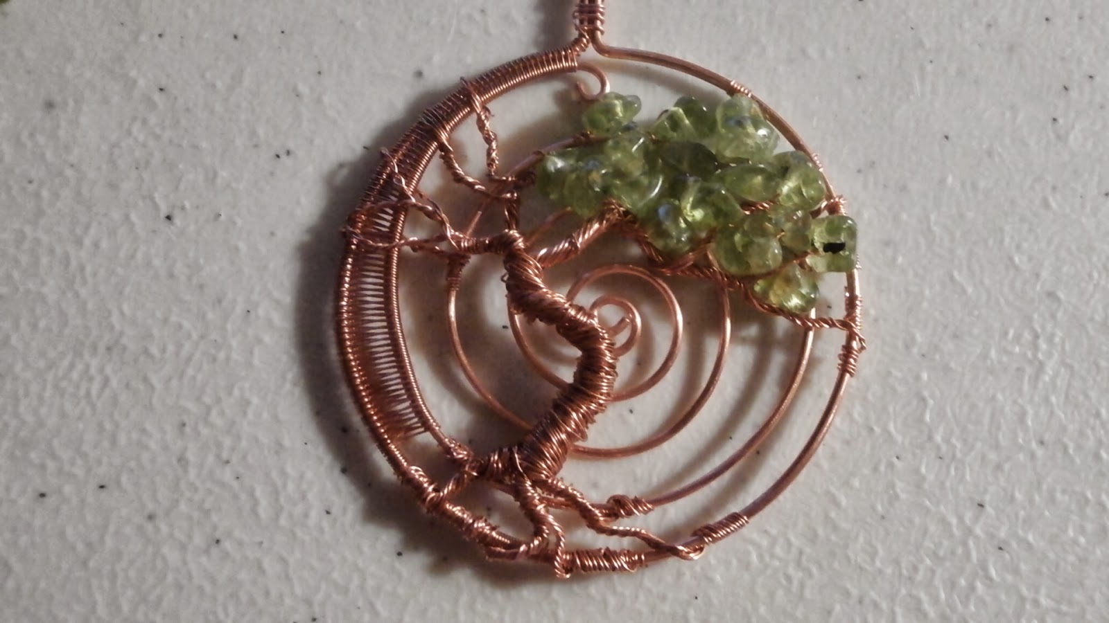 Perfectly Twisted Handmade Wire Wrapped Beaded And Gemstone