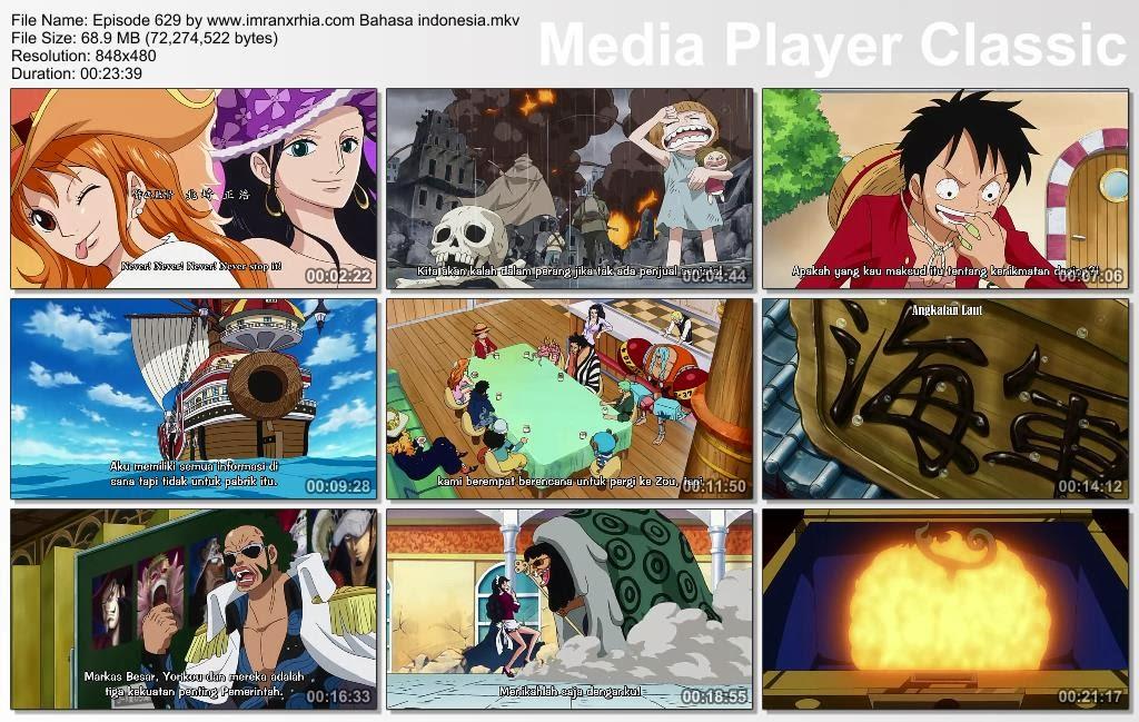 Download Film One Piece Episode 629 (Mengejutkan! Berita Besar yang Mengguncangkan Dunia Baru!) Bahasa Indonesia