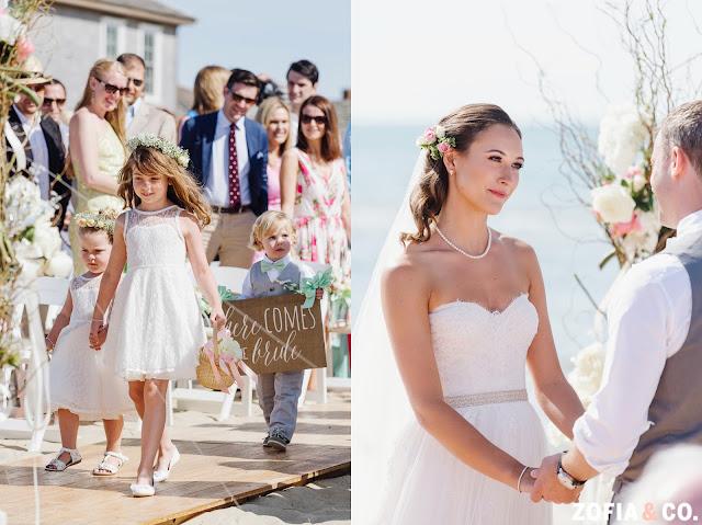 Galley Beach Wedding Ceremony