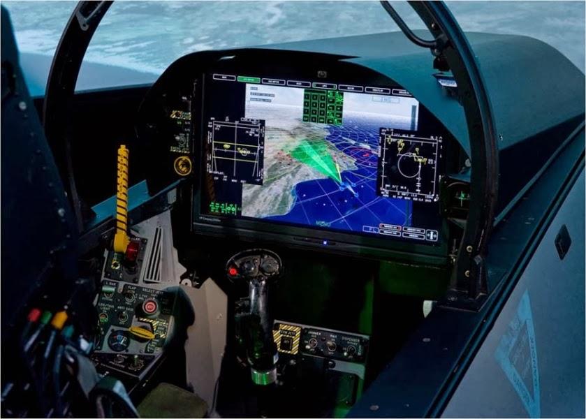 F 18 Cockpit Go Back > Pix F...