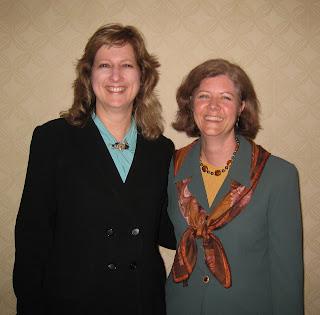 CB Whittemore with NJ AMA President Sandra Ghezzi