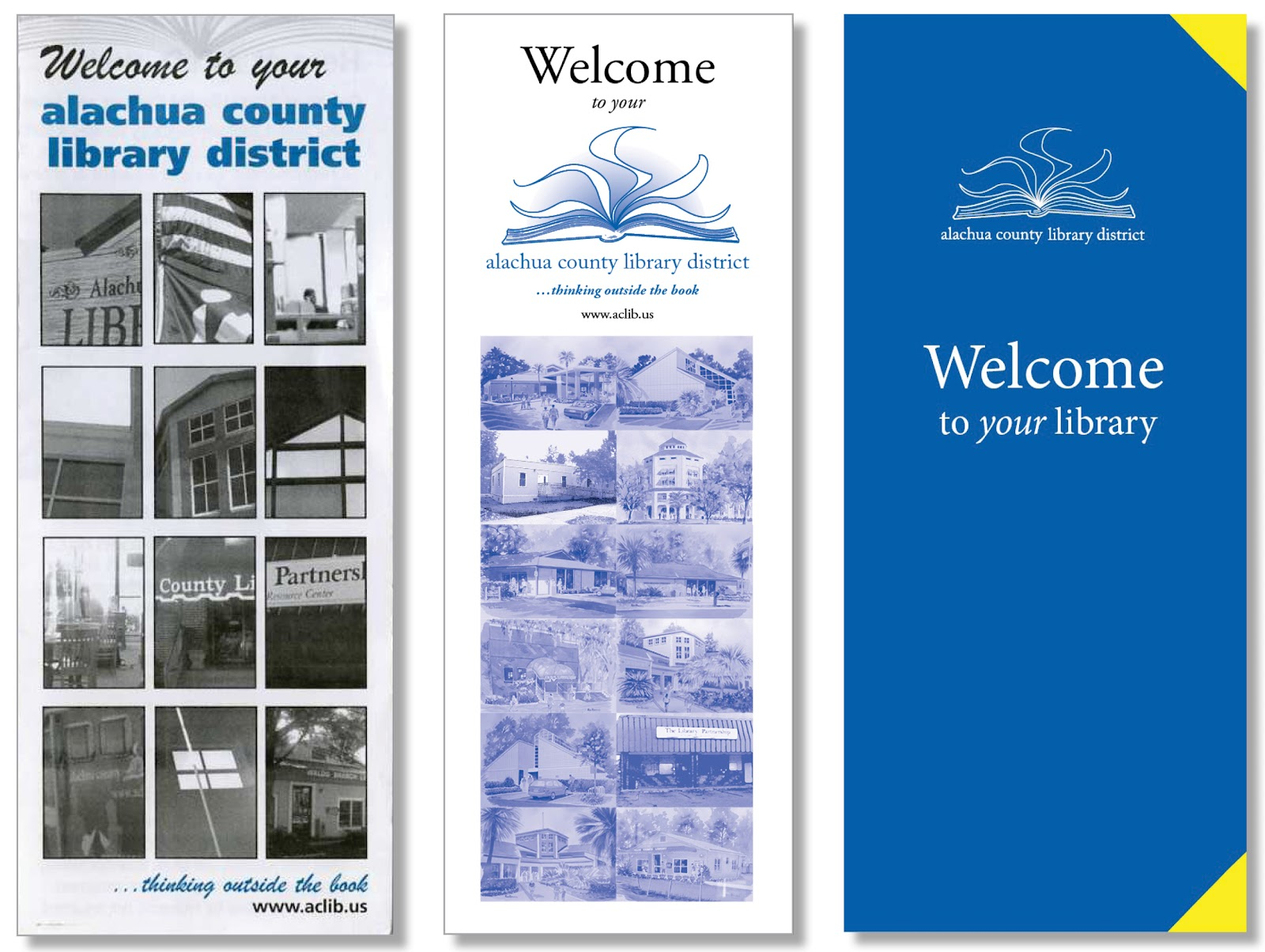 Library Marketing Design The Evolution Of A Library Welcome Brochure - Library brochure templates