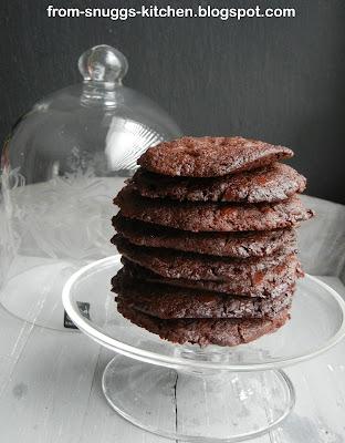 Chocolate Cookies mit Fleur de Sal