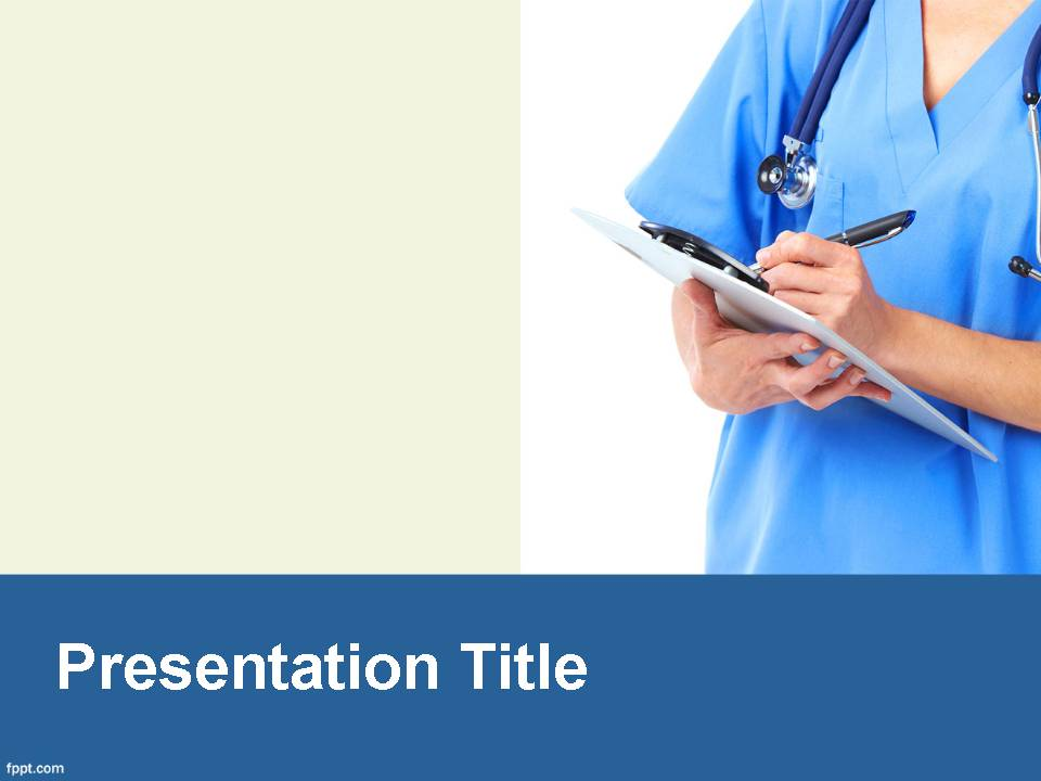 sample medical powerpoint template
