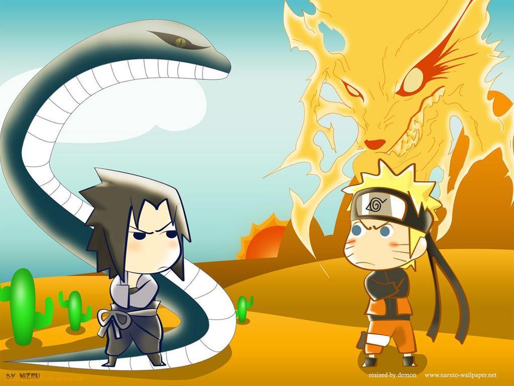 naruto kyuubi vs sasuke - photo #12