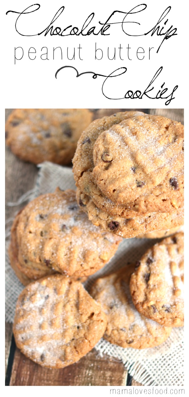 This Flourless Chocolate Chip Peanut Butter Cookies Recipe was ...