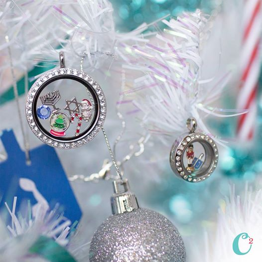 Chrismukkah Origami Owl Living Locket | Shop StoriedCharms.com