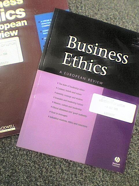 business ethics within today The global ethics office is responsible for promoting walmart's culture of integrity.