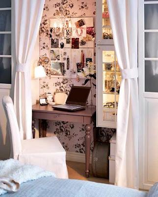 pequeño estudio oficina juvenil