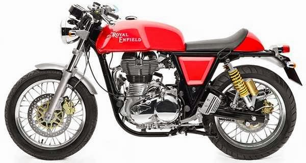 Royal Enfield Continental GT single red color variant