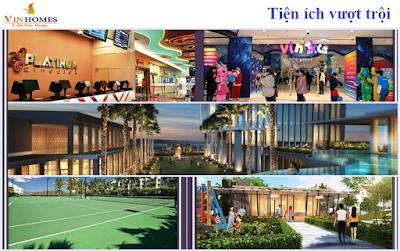 Tiện ích dự án Vinhomes Trần Duy Hưng