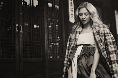 Hyoyeon SNSD Girls' Generation - L'uomo Vogue Magazine November Issue 2013