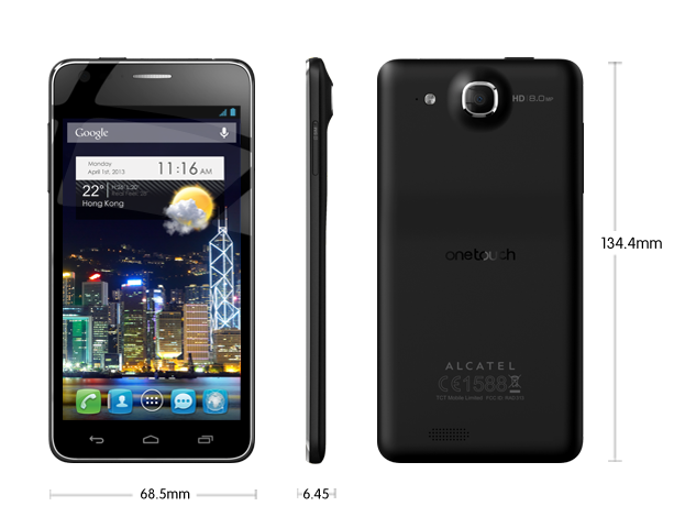 Alcatel One Touch Idol Ultra Black