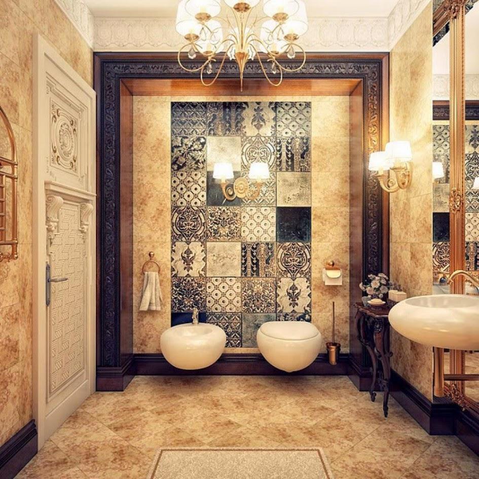 Banheiros lindos para se inspirar