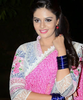 Sreemukhi hot stills at Andhra Pori Movie Audio Launch