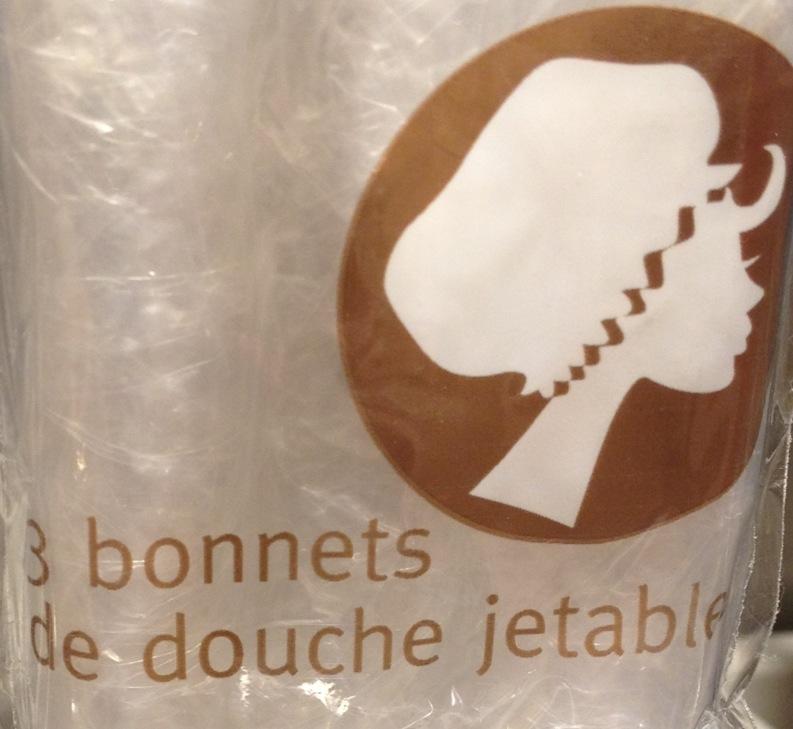 retro rack bonnet de douche other french wonders. Black Bedroom Furniture Sets. Home Design Ideas