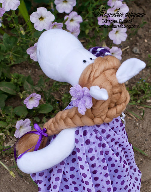 игрушка лошадка символ 2014 года