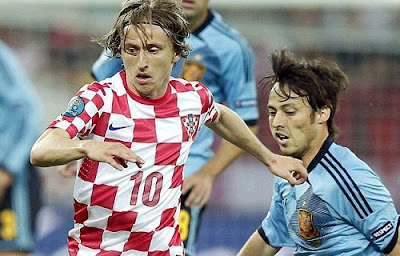 Luka Modric at Euro 2012 