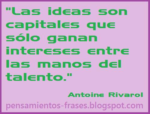 frases de Antoine Rivarol