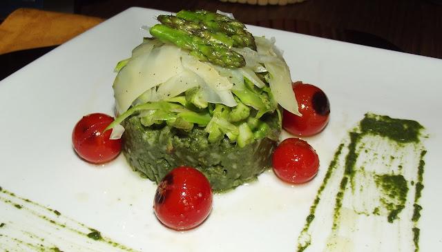 arroz con clorafila
