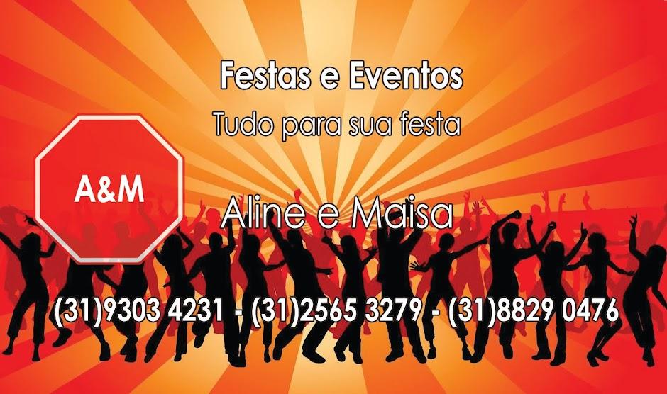 Aline & Maísa Festas e Eventos.